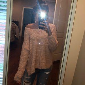 Sweaters - Oversized Boho Sweater